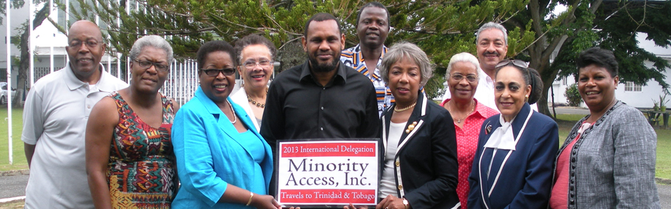 """Minority Access International Delegation:  Trinidad and Tobago"""