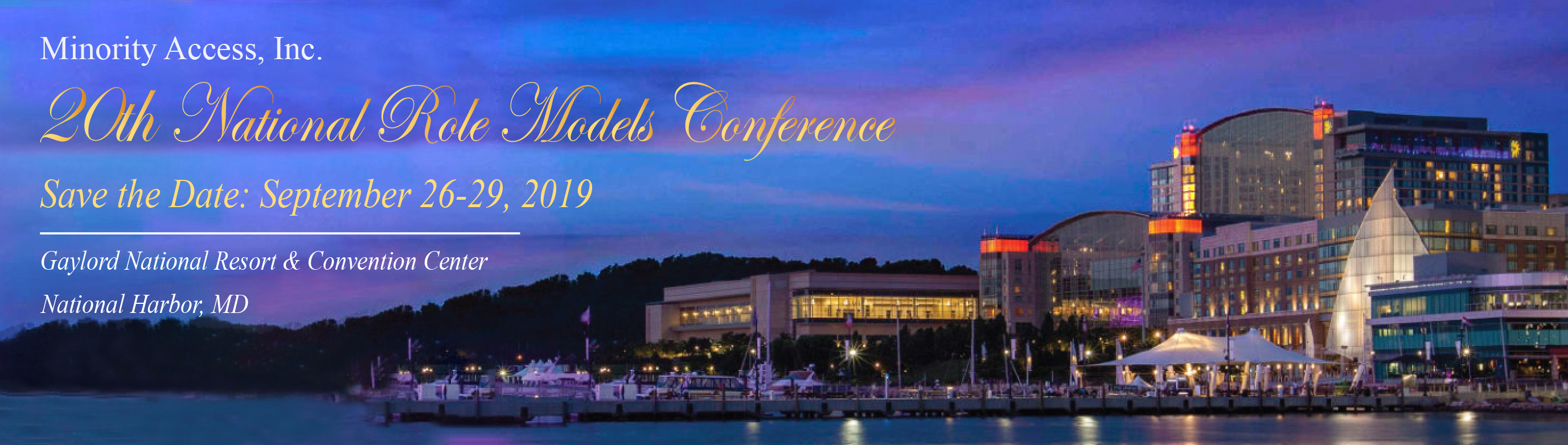 """Nineteenth National Role Models Conference"""